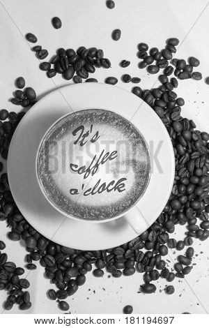 Coffee drink cup espressoo aroma caffeine hot, it`s coffee o`clock,I Love Coffe,Good Morning,people drink coffee
