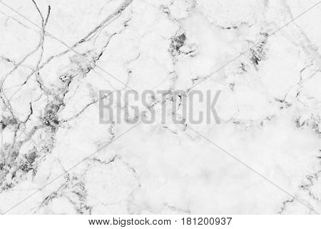 White marble patterned texture background, Marbles of Thailand, abstract natural marble black and white for design your designs or images.