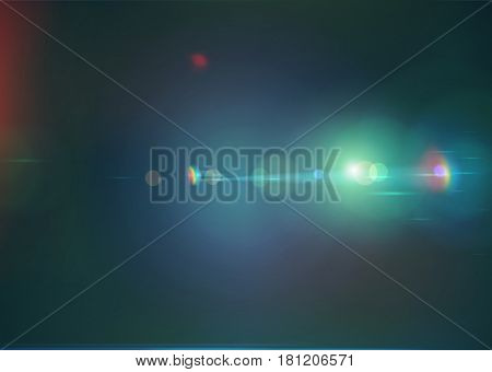 Vector illustration of dark blue soft colored abstract background