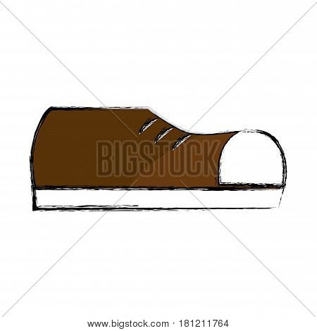 fashin man shoes style, vector illustration design
