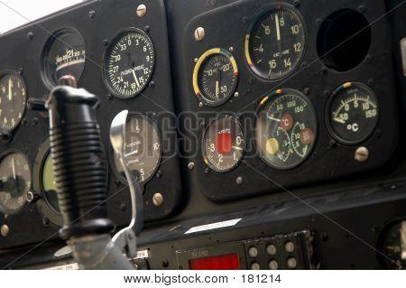 Plane's Cockpit - Closeup