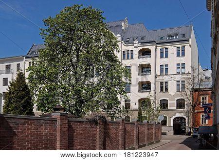 Riga, Elizabetes Street 22, Art Nouveau, jugendstil