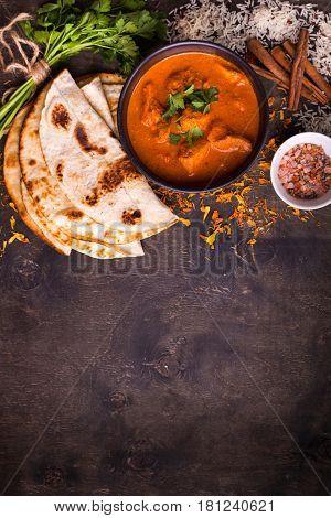 Hot Spicy Chicken Tikka Masala