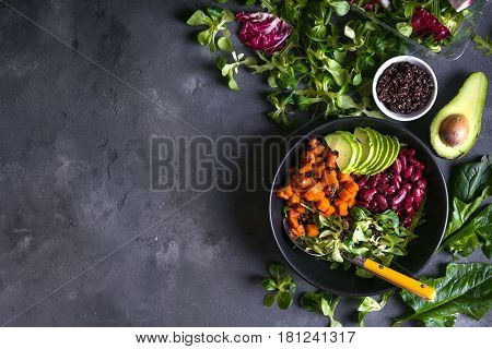 Quinoa Salad Background