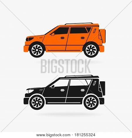 Car Vector Symbol eps 8 file format