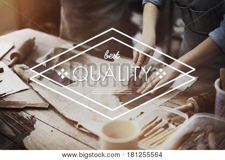 Best Quality Design Rhombus Word