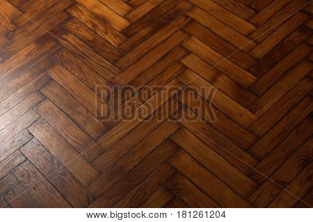 Background In The Form Of A Wooden Floor With A Pattern Of French Fir