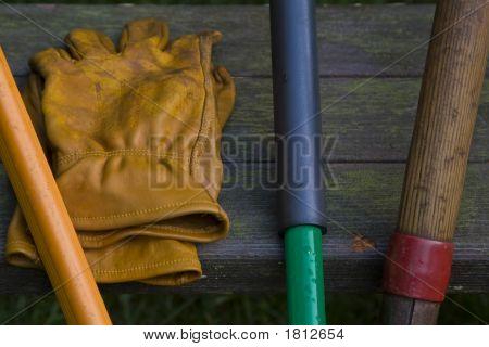Leather Garden Gloves