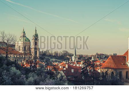 Saint Nicholas Church, Lesser Town Square, Prague, Czech Republic