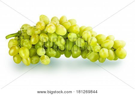 Isolated Bunch Of Grapes