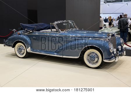 1956 Mercedes-benz 300Sc Cabriolet Vintage Car