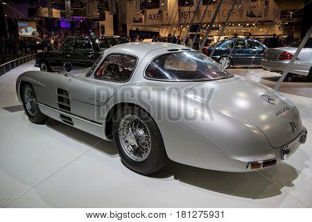 Mercedes Benz 300 Slr W196S Uhlenhaut Coupe Vintage Car