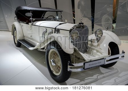 1927 Mercedes Benz Type S W06 Vintage Car