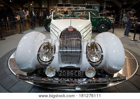 1938 Bugatti Type 57C Gangloff Roadster Vintage Car