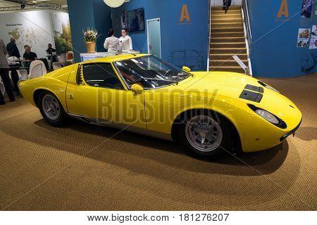1967 Lamborghini Miura P400 Vintage Sports Car