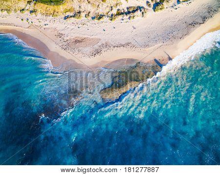 Aerial photograph of Halls Head, Mandurah, south of Perth, Western Australia, Australia.