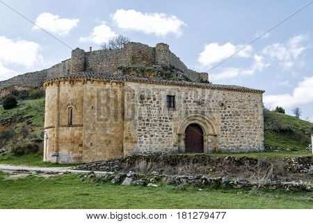 Hermitage of Our Lady of Solitude in Calatanazor Soria Spain