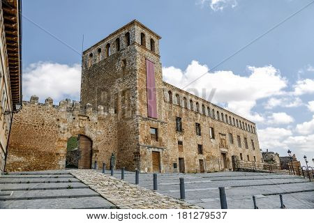 Palace of the Marquises of Berlanga in Berlanga del Duero Soria Spain