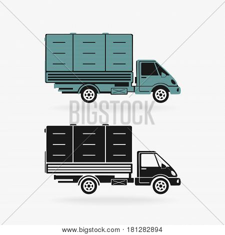 Truck Vector Car Symbol eps 8 file format