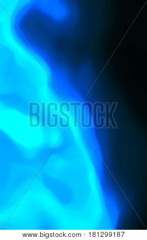 Light explosion, illustration with rays of blue light for beautiful and interesting  backgrounds and textures.