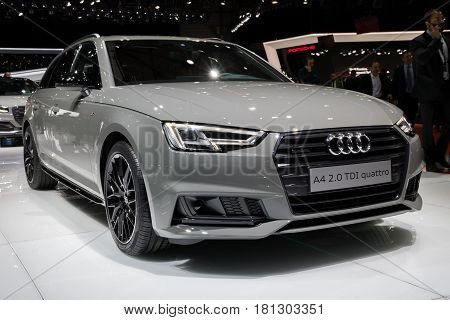 Audi A4 2.0 Tdi Quattro Car