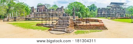 The Sacred City Of Polonnaruwa