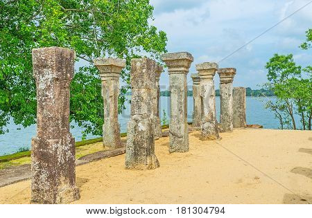 The Lake Behind The Pillars