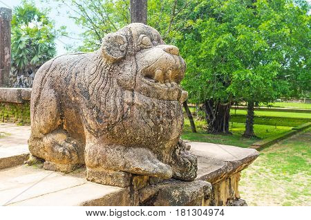 The Small Stone Lion