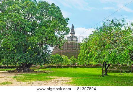 The Pagoda Of Rankoth Vihara