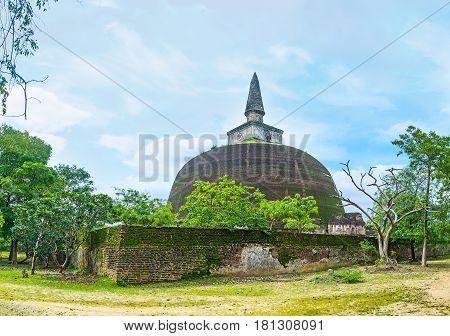 Preserved Rankoth Vihara