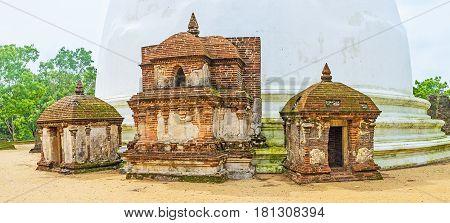 The Frontispiece Of Kiri Vihara