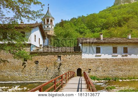 Entry to the Old Monastery in Bulgaria