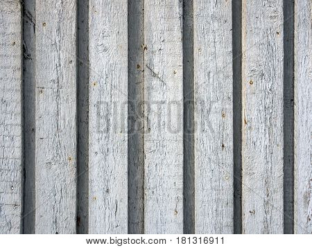 Background of the wooden planks connected overlapping