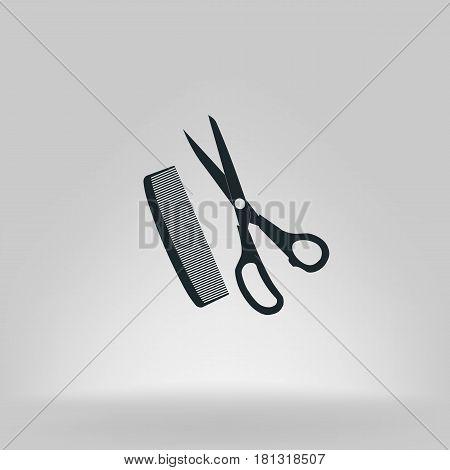 Barber Shop Vector Icon