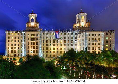 National Hotel - Havana, Cuba