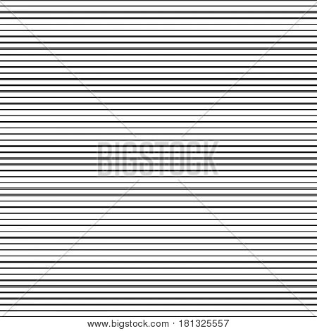 pattern with horizontal black stripes on white background
