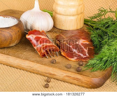 Bacon And Spices