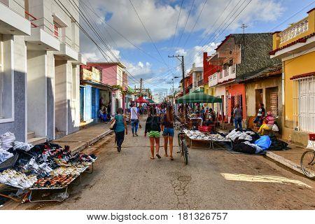 Street Fair - Trinidad, Cuba
