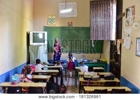 Elementary School - Trinidad, Cuba