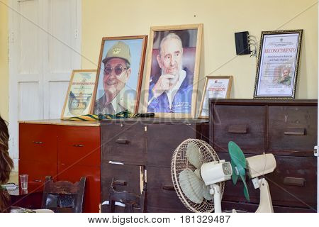 Government Office - Cuba