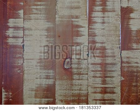 Texture of an old and rustic wooden surface