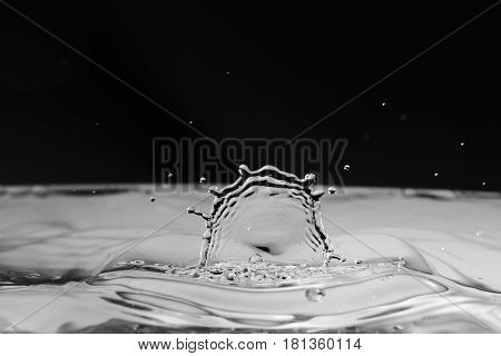 Water background / water, water splash, splash, background, wallpaper, art, abstract, design, concept, idea, photo, color, colorless, transparent, blue water, drink, mineral water