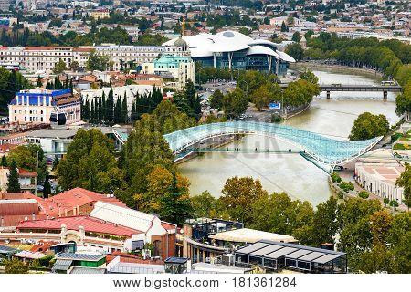 View Of City Center Tbilisi. Georgia
