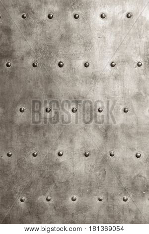 Grunge Metal Plate As Background Texture