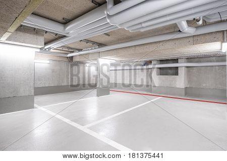 Underground Car Parking Deck