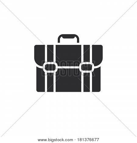 Briefcase Icon Vector, Portfolio Solid Logo, Pictogram Isolated On White, Pixel Perfect Illustration