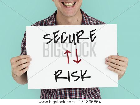 Innovation Technology Secure Risk Illustration