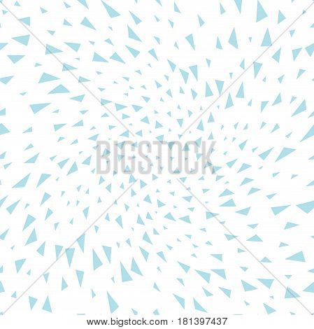 Minimal Graphic Geometric Triangle Seamless Memphis Pattern
