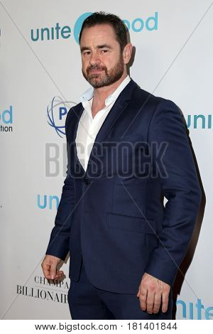 LOS ANGELES - APR 7:  Glenn Keogh at the 4th Annual unite4:humanity Gala at the Beverly Wilshire Hotel on April 7, 2017 in Beverly Hills, CA