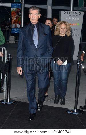 LOS ANGELES - APR 3:  Pierce Brosnan at the AMC's